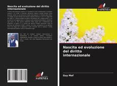 Capa do livro de Nascita ed evoluzione del diritto internazionale