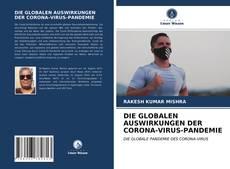 Borítókép a  DIE GLOBALEN AUSWIRKUNGEN DER CORONA-VIRUS-PANDEMIE - hoz