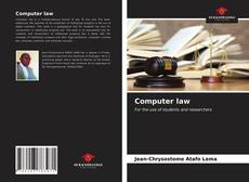 Bookcover of Computer law