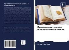 Portada del libro de Правоохранительные органы и инвалидность