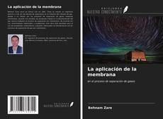 La aplicación de la membrana kitap kapağı