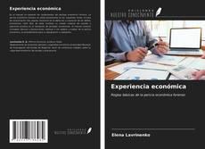 Portada del libro de Experiencia económica