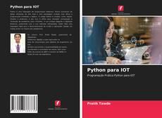 Python para IOT的封面