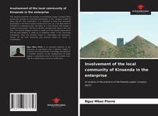 Bookcover of Involvement of the local community of Kinsenda in the enterprise