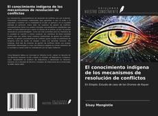 El conocimiento indígena de los mecanismos de resolución de conflictos kitap kapağı