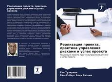 Реализация проекта, практика управления рисками и успех проекта kitap kapağı