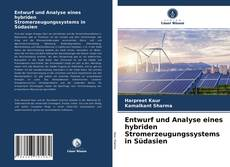 Bookcover of Entwurf und Analyse eines hybriden Stromerzeugungssystems in Südasien