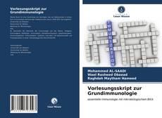 Capa do livro de Vorlesungsskript zur Grundimmunologie