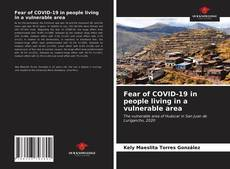 Обложка Fear of COVID-19 in people living in a vulnerable area