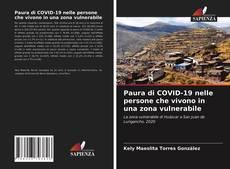 Обложка Paura di COVID-19 nelle persone che vivono in una zona vulnerabile