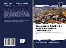 Обложка Страх перед COVID-19 у людей, живущих в уязвимой зоне