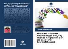 Borítókép a  Eine Evaluation der Auswirkungen des Jolly Phonics Programms auf die Lese- und Schreibfähigkeit - hoz