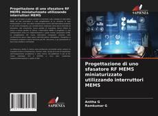 Обложка Progettazione di uno sfasatore RF MEMS miniaturizzato utilizzando interruttori MEMS