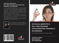 Couverture de EFFICACIA ANESTETICA DELL'INFILTRAZIONE SUPPLEMENTARE PRIMARIA E SECONDARIA