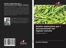 Borítókép a  Analisi molecolare per i micronutrienti nel fagiolo comune - hoz