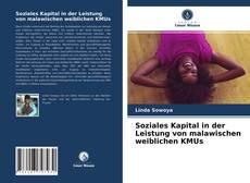 Обложка Soziales Kapital in der Leistung von malawischen weiblichen KMUs