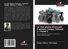 La mia piuma d'oro per il povero Congo. Volume 2 / Parte 1 kitap kapağı