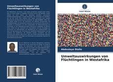 Buchcover von Umweltauswirkungen von Flüchtlingen in Westafrika