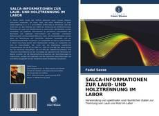Borítókép a  SALCA-INFORMATIONEN ZUR LAUB- UND HOLZTRENNUNG IM LABOR - hoz