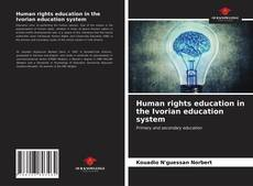 Copertina di Human rights education in the Ivorian education system