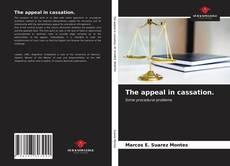 Buchcover von The appeal in cassation.