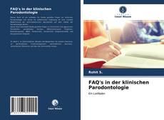 Buchcover von FAQ's in der klinischen Parodontologie
