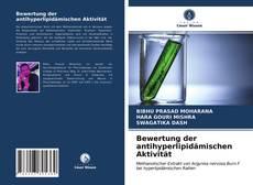 Portada del libro de Bewertung der antihyperlipidämischen Aktivität