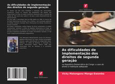 Borítókép a  As dificuldades de implementação dos direitos de segunda geração - hoz