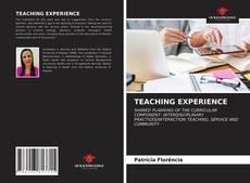 Copertina di TEACHING EXPERIENCE