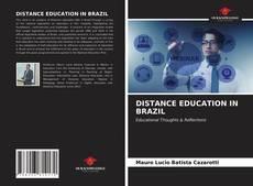 DISTANCE EDUCATION IN BRAZIL的封面