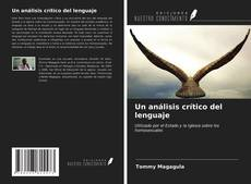 Portada del libro de Un análisis crítico del lenguaje