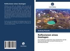 Copertina di Reflexionen eines Geologen