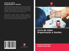 Livro de mãos Organização e Gestão的封面