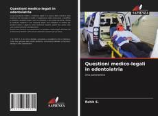 Questioni medico-legali in odontoiatria的封面