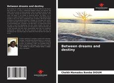 Bookcover of Between dreams and destiny