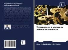 Capa do livro de Управление в условиях неопределенности