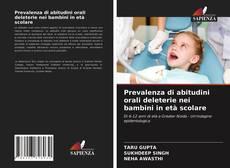 Copertina di Prevalenza di abitudini orali deleterie nei bambini in età scolare