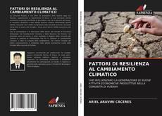 Buchcover von FATTORI DI RESILIENZA AL CAMBIAMENTO CLIMATICO