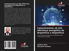Capa do livro de Comunicazione ad alta efficienza energetica da dispositivo a dispositivo