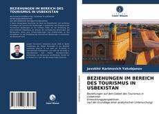Buchcover von BEZIEHUNGEN IM BEREICH DES TOURISMUS IN USBEKISTAN