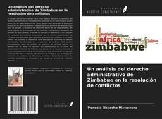 Un análisis del derecho administrativo de Zimbabue en la resolución de conflictos kitap kapağı