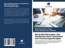 Buchcover von Herausforderungen von Studenten beim Schreiben von Forschungsanträgen