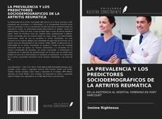 Buchcover von LA PREVALENCIA Y LOS PREDICTORES SOCIODEMOGRÁFICOS DE LA ARTRITIS REUMÁTICA