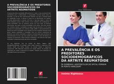 Buchcover von A PREVALÊNCIA E OS PREDITORES SOCIODEMOGRÁFICOS DA ARTRITE REUMATÓIDE