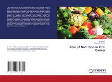 Bookcover of Role of Nutrition in Oral Cancer