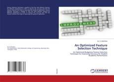 An Optimized Feature Selection Technique kitap kapağı
