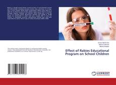 Bookcover of Effect of Rabies Educational Program on School Children