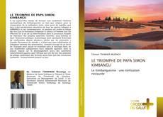 Capa do livro de LE TRIOMPHE DE PAPA SIMON KIMBANGU