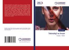 Teknoloji ve İnsan kitap kapağı