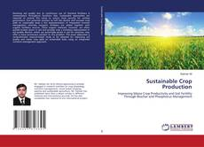 Bookcover of Sustainable Crop Production
